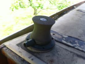 Original Coach roof mount for the winches