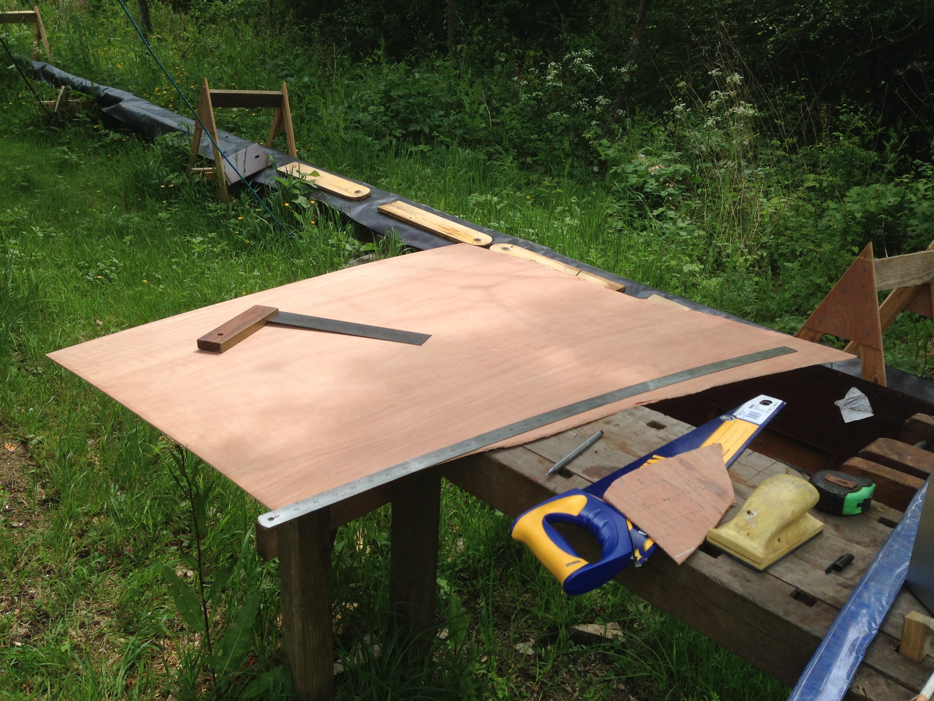 Washboard Template underway