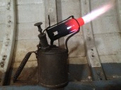 Paraffin Blow Torch getting scarily hot