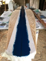 making surfboard