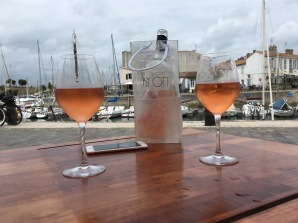 Rosé in Saint-Martin-de-Ré